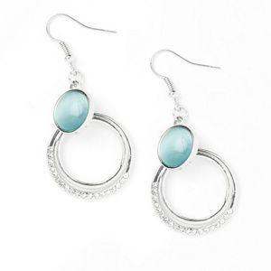 Blue earring Paparazzi